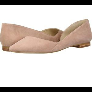 Marc Fisher pink flats